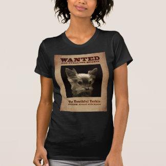 Camiseta Yorkie_ jovem