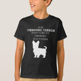 Camiseta Yorkshire terrier