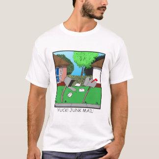 Camiseta Yuck! Correio não solicitado!