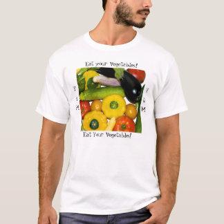 Camiseta Yum Yum coma seus vegetais!