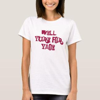 Camiseta Yuri para Yaoi