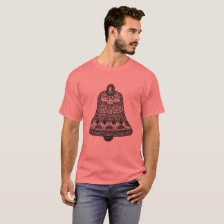 Camiseta yuyass cinzas e t-shirt do sino do preto