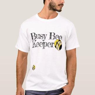 Camiseta Zangão bonito do apicultor ocupado engraçado