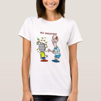 Camiseta Zangão do Whisperer da abelha dos amantes das