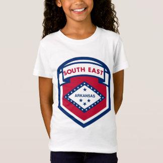 Camiseta Zazzle da BANDEIRA de AKANASAS