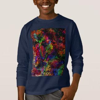 Camiseta Zebra abstrata