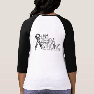 Camiseta Zebra da consciência da síndrome de Ehlers-Danlos