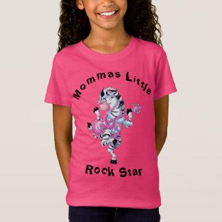 Camiseta Zebra da estrela de Mommas Little Rock
