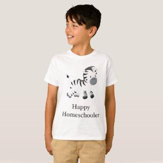 Camiseta Zebra Homeschooler feliz