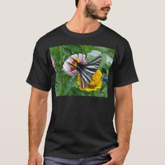 Camiseta Zebra Swallowtail+Besouro japonês