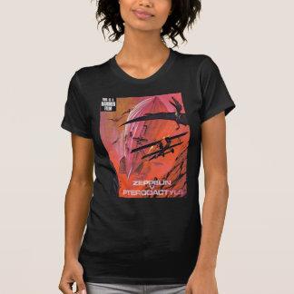 Camiseta zepelins contra pterdactyls