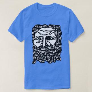 """Camiseta """"Zeus enfrenta"""" o t-shirt dos homens"""