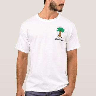 Camiseta Zielonym faz cruento