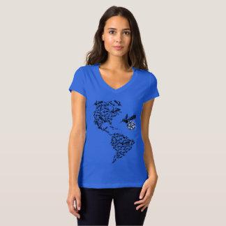 Camiseta Zika nos Americas