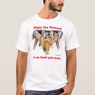 Camiseta Zippy: Deixe-nos rolar sobre você