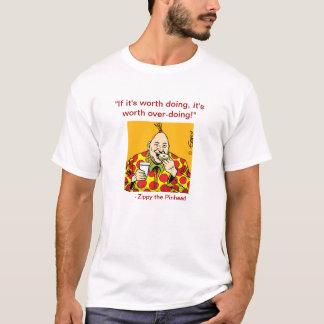Camiseta Zippy sobre-faz