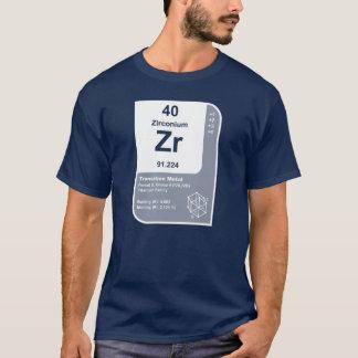 Camiseta Zircónio (Zr)