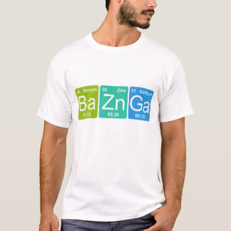 Camiseta Zn GA dos vagabundos! T-shirt dos elementos de