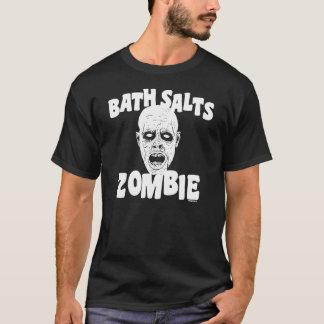 Camiseta Zombi de sais de banho