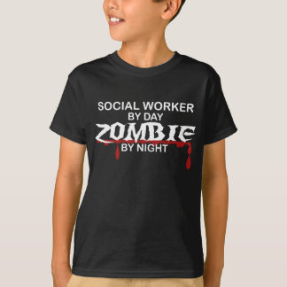 Camiseta Zombi do assistente social