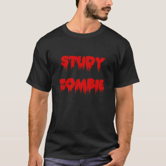 Camiseta Zombi do estudo