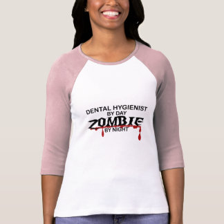 Camiseta Zombi do higienista dental