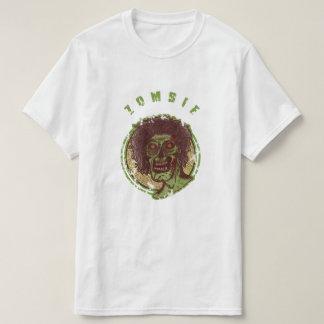 Camiseta Zombi - ilustração vestida do olhar