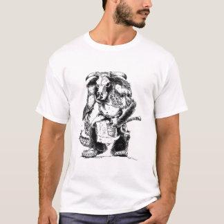 Camiseta Zombi Minotaur do vivo