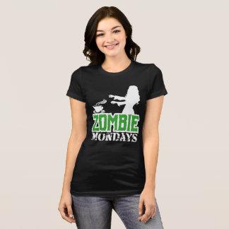 Camiseta Zombi segundas-feiras - senhora Zombi Chasing Café