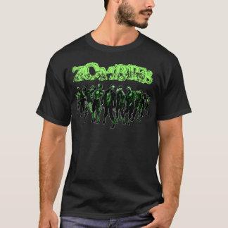 Camiseta ZOMBIS - curso branco