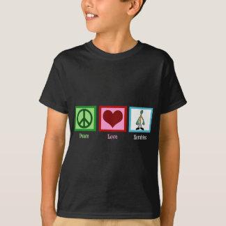 Camiseta Zombis do amor da paz