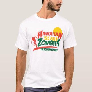 Camiseta Zombis havaianos Rasta do surf
