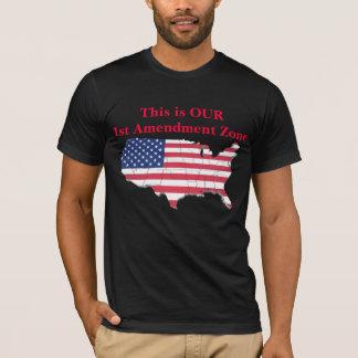 Camiseta Zona da alteração das ISTs