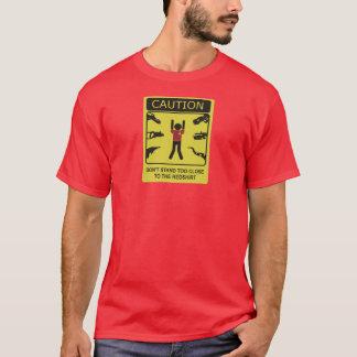 Camiseta zona de perigo do redshirt