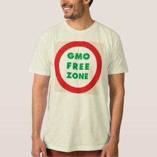 Camiseta Zona franca de GMO (orgânica)