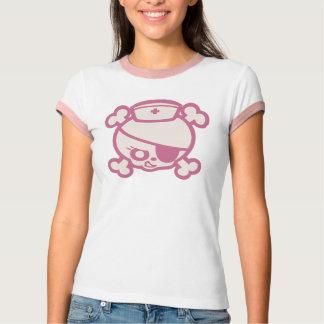 Camiseta Zorra da enfermeira - rosa