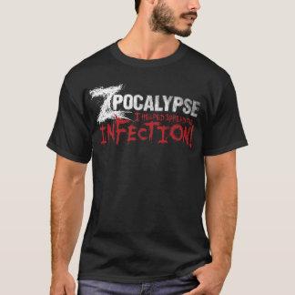 Camiseta Zpocalypse: Eu ajudei o começo a infecção! (M)