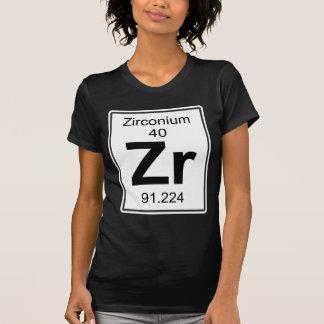 Camiseta Zr - zircónio