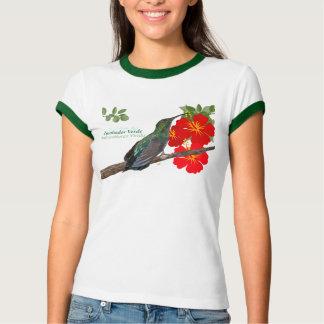 Camiseta Zumbador Verde de Puerto Rico/camisa verde da