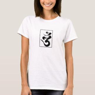 Camiseta Zumbido simples do OM Mani Padme do tshirt do