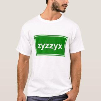 Camiseta zyzzyx