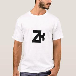 Camisetas da coleção da roupa de ZK
