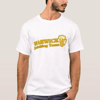 Camisetas da equipe do bebendo de Warwick
