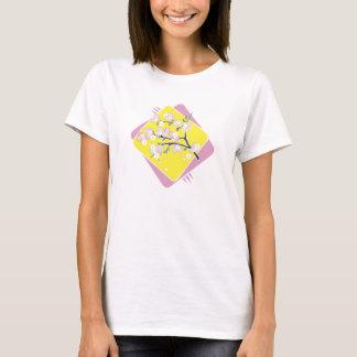 Camisetas da flor de cerejeira