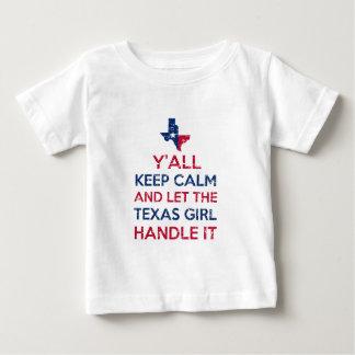 Camisetas da menina de Texas