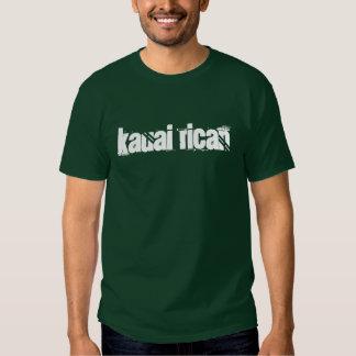 Camisetas da obscuridade de Kauai Rican