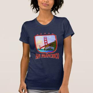 Camisetas da obscuridade de San Francisco