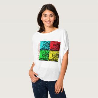 Camisetas de fluxo - introduzindo o gato do