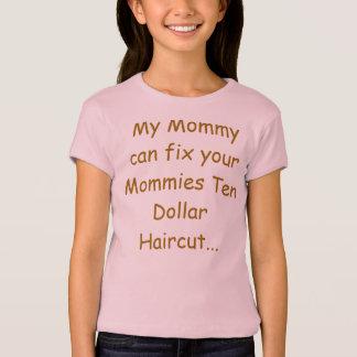 Camisetas do corte de cabelo