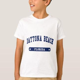 Camisetas do estilo da faculdade de Daytona Beach